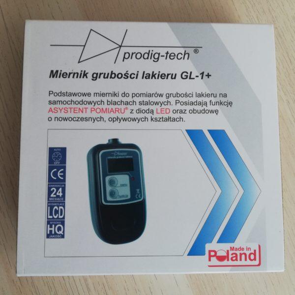 Skuteczny miernik grubości lakieru Prodig-tech GL-1+ Polska produkcja!